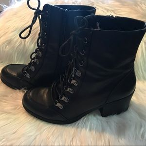 EUC G by Guess Combat Boots
